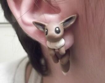 Eevee inspired earrings