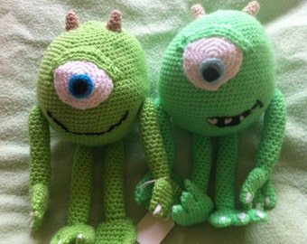 Green Monster- crochet