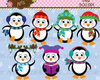 40% Off! Penguins Digital Art Instant Download