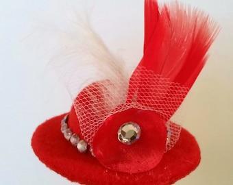 Canine Elegance Dog Hat, Dog Fasinator, Hat, Dog Apparel