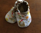 Thanksgiving Reversible Baby Shoes