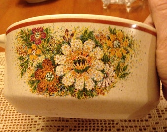 "Lenox ""Temper-Ware"" Flower Casserole Dish"