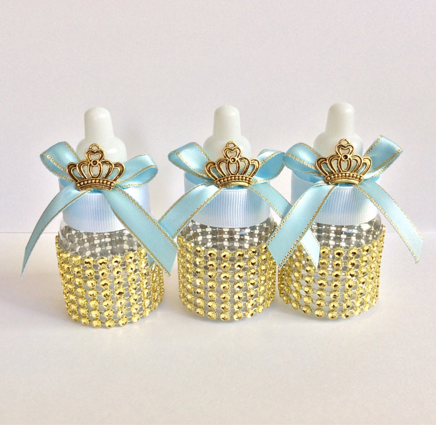 royal blue baby shower favors little prince by marshmallowfavors