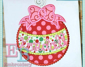 Dotted Ornament Applique - This design is to be used on an embroidery machine. Instant Download