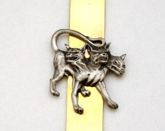 Cerberus (3 headed Dog) Letter Opener (paper knife), Handmade, Gift Boxed (h)