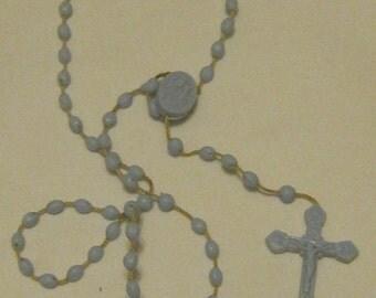 Vintage Plastic Rosary