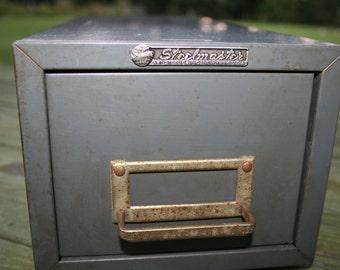 Vintage Steelmaster File Cabinet Etsy
