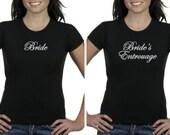 Bachelorette Party Shirt Bride Bridesmaid Team Bride