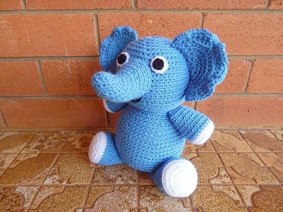 Amigurumi Crochet Pattern Elephant Pattern No.48