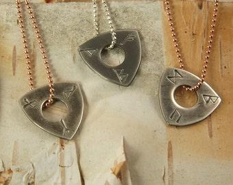 Chic Viking Rune Necklace