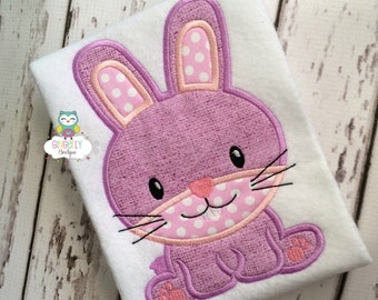 Easter Bunny Shirt or Bodysuit, Girl Easter Bunny Shirt, Girl Bunny Shirt, Girl Easter Shirt, Girl Easter Egg Hunt Shirt, Girl Easter Shirt