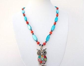 Midnight Owl Necklace.
