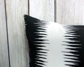 Black White Pillow. Striped Pillow. Pillow Set. Premier Prints. Pillow Covers. Cushion Covers