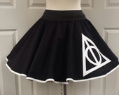 Deathly Hallows  Skirt (Assorted Colors Available)