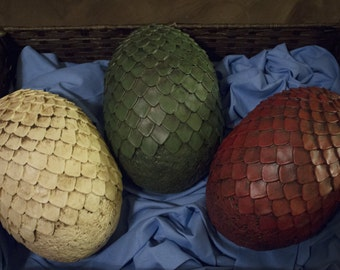 Game of Thrones Dragon Egg Raw Cast