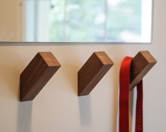 WallNuts™ - Creative Wall Hooks for the Organized Modernist made from beautiful hardwoods.