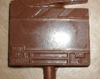Clap Board Lolly Chocolate Mold
