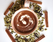 Lady Chai... Hot drinking chocolate made with 100% organic ingredients 6oz tin