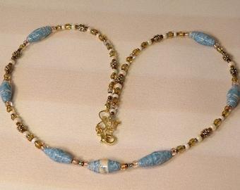Cornflower Blue Necklace
