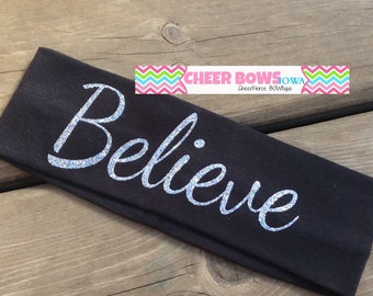 BELIEVE headband