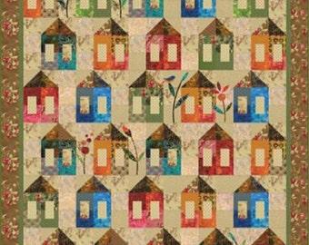 Sugar Shack Quilt Pattern - Edyta Sitar - Laundry Basket Quilts - LBQ-0426-P