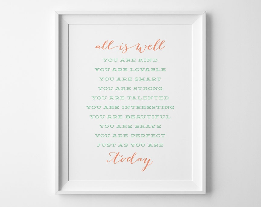 Girls bedroom wall art typography wall art gift for her for Bedroom gifts for her