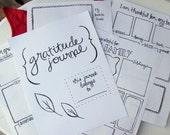 Printable Hand-Lettered Gratitude Journal (LDS)