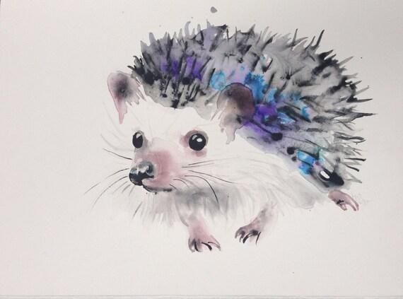 Items similar to custom painting pet portrait custom for Cute watercolor paintings