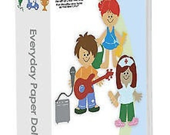 Free Shipping - Everday Paper Doll Cricut Cartridge