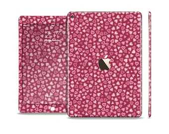 The Small Pink Hearts Collage Skin Set for the Apple iPad (All Models Available)