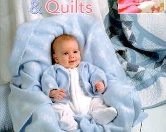 Cuddly Fleecewear and Quilts, Leisure Arts