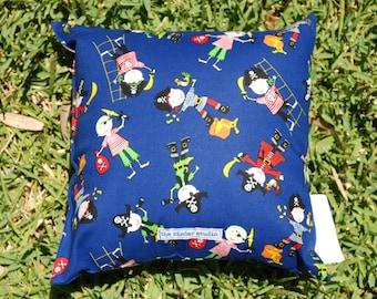 Navy Pirates Mini Cushion