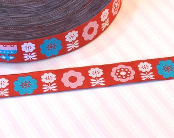 """Woven Ribbon Lille cloth """"Bloombird"""""""