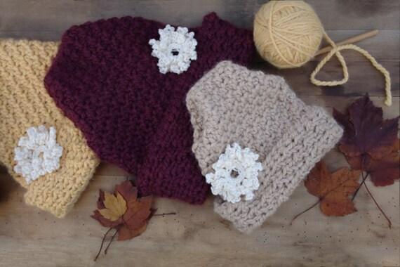 Crochet Pattern Crochet Hat Pattern by HiddenMeadowCrochet