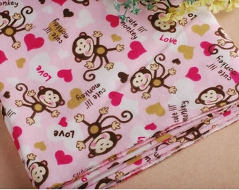 Underwear bundle etsy for Baby monkey fabric prints