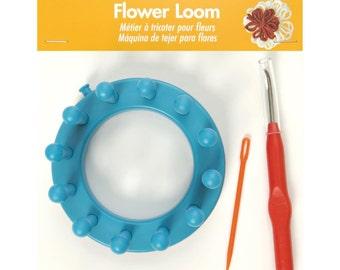Flower Loom W/Hook & Yarn Needle