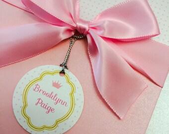 Princess girl's birthday invitation