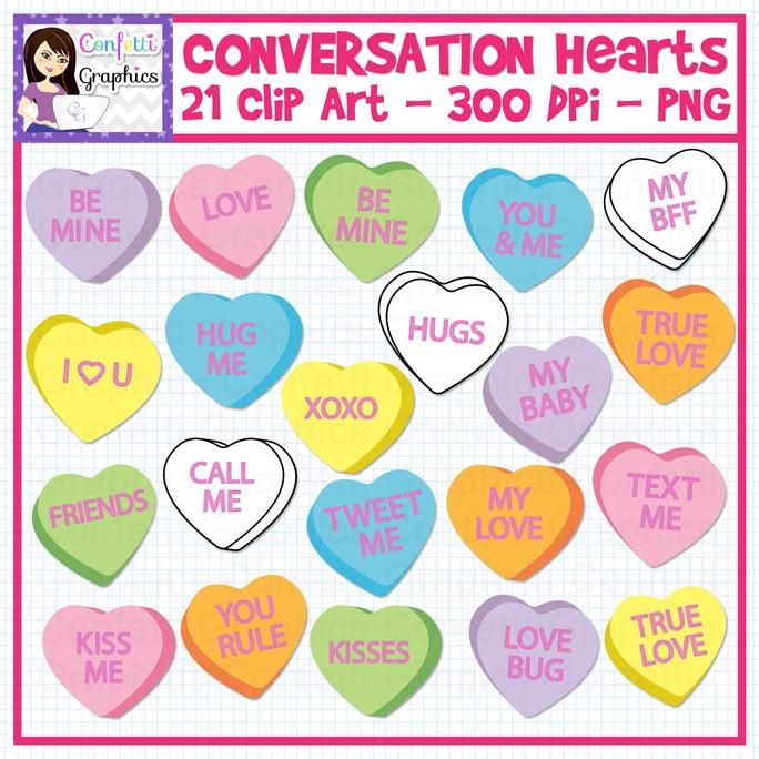 free clip art conversation hearts - photo #28