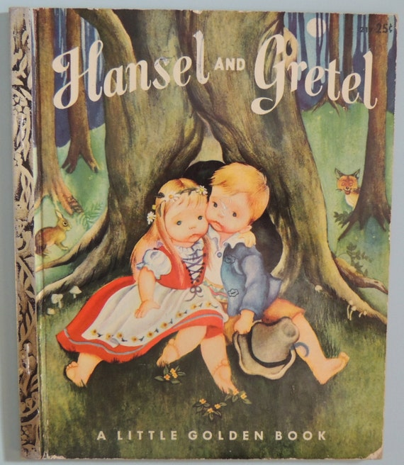 1954 Hansel And Gretel Eloise Wilkin 217 Little Golden