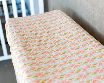 changing pad cover, triangle changing pad cover