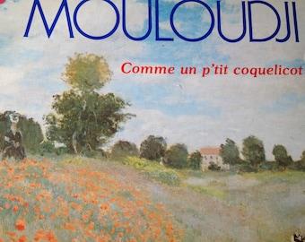 Mouloudji - Comme Un P'tit Coquelicot - vinyl record