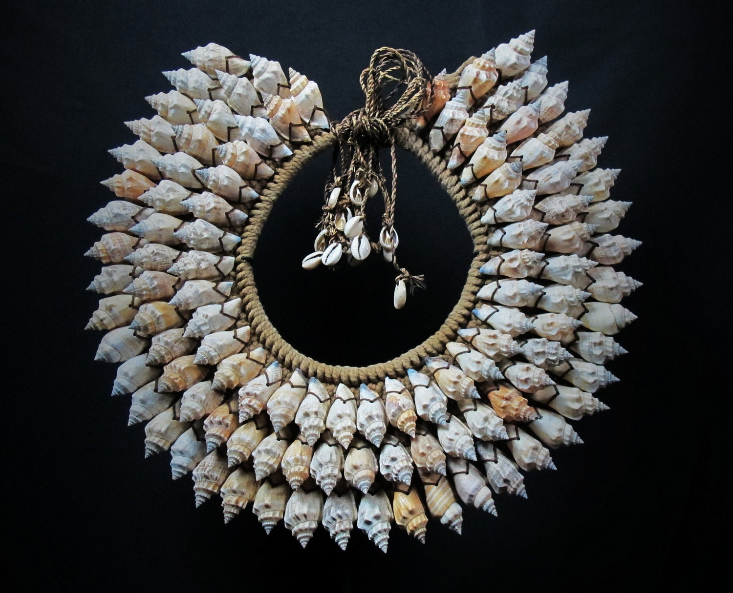 Papua Shell Necklace Ethnic Jewelry Tribal New Guinea Currency