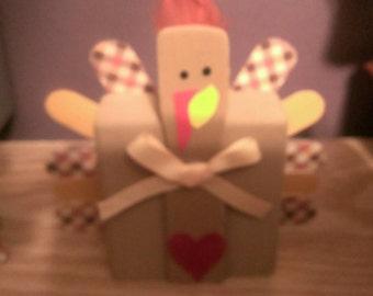 Wooden Turkey