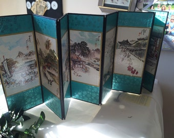 Beautiful Little Display Partition for Asian Decor REDUCED