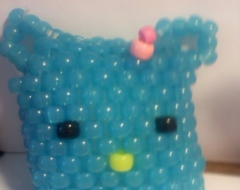 HK puff necklace with dress