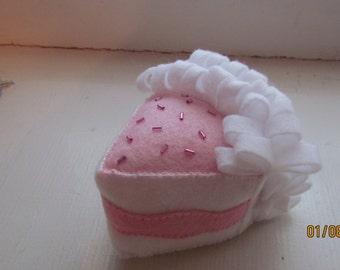 felt frosting cake