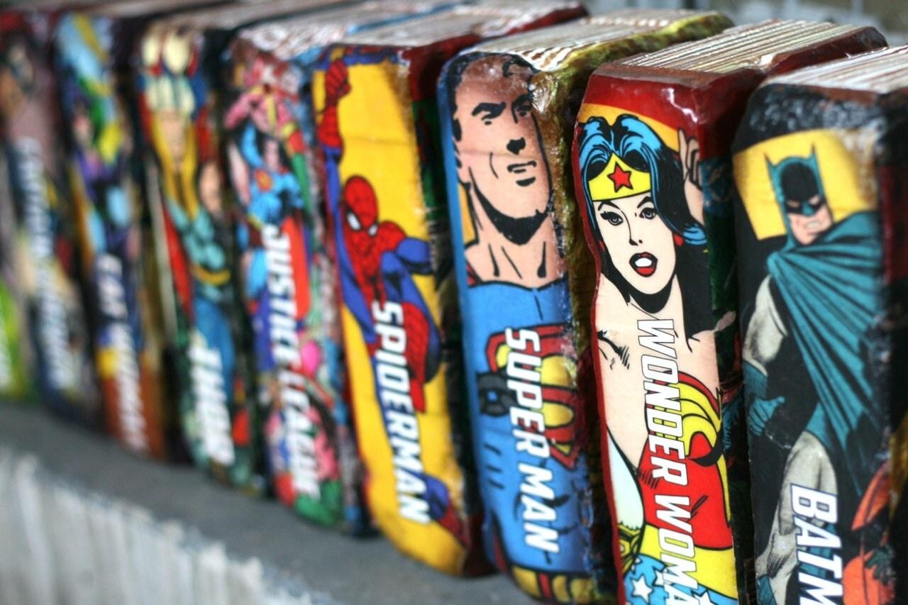 Brique serre livre s comic books batman par thegnakedgnome