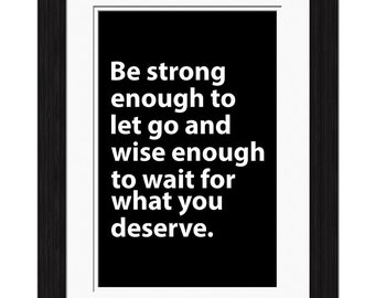 Strong Enough Affirmation
