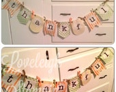 30% OFF SALE: Simple Thankful Banner