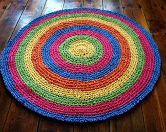 Popular items for round carpet on Etsy